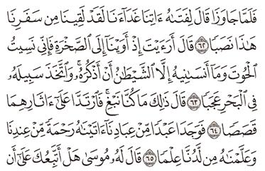 Tafsir Surat Al-kahfi Ayat 61, 62, 63, 64, 65