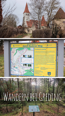 Premiumwanderung - Adolf-Hackner-Weg | Wandern im Naturpark Altmühltal | Rundweg um Greding im Schwarzachtal | Tourenbericht und GPS-Track