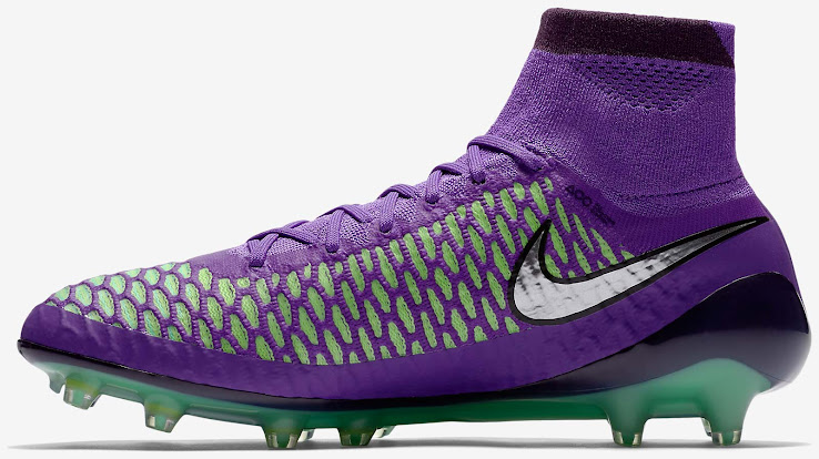 0d297f1314a0 ... the Hyper Grape Nike Magista 2016 cleats boast an eye-catching purple  Flyknit upper and Dynamic Fit collar