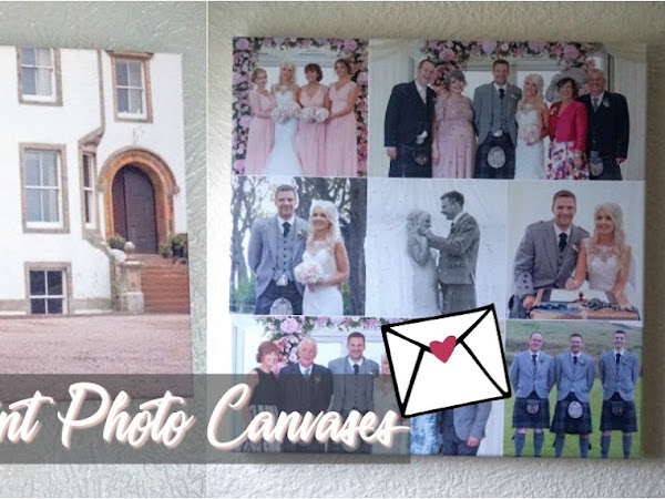 Wedding Photo Canvas | Parrot Print