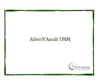 AlienVAault USM Online Training in Hyderabad India