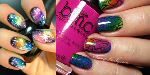 Rainbow nail designs solutioingenieria Choice Image