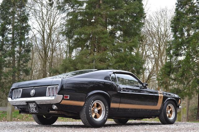'70 Mustang Mach I 351 :: Flavien Dachet