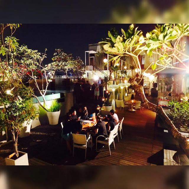 The Edge - Restoran Romantis di Jakarta