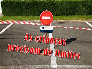 Limites para crianças