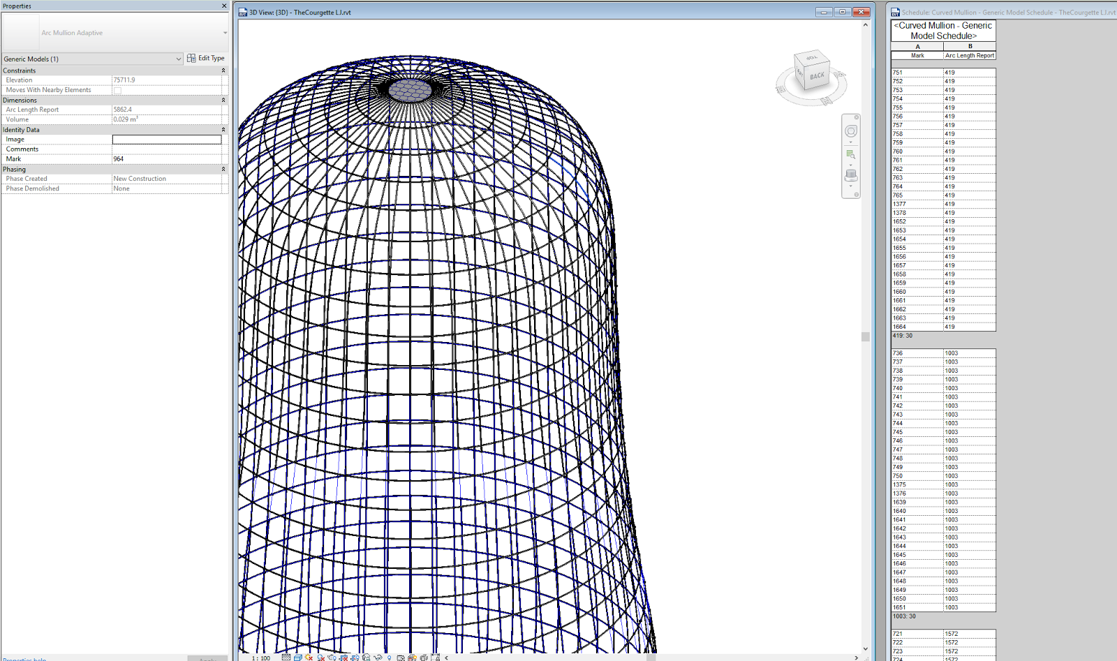 What Revit Wants Making Curved Mullions That Can Be