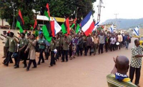 massob clash police anambra