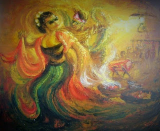 Lukisan Penari Sintren
