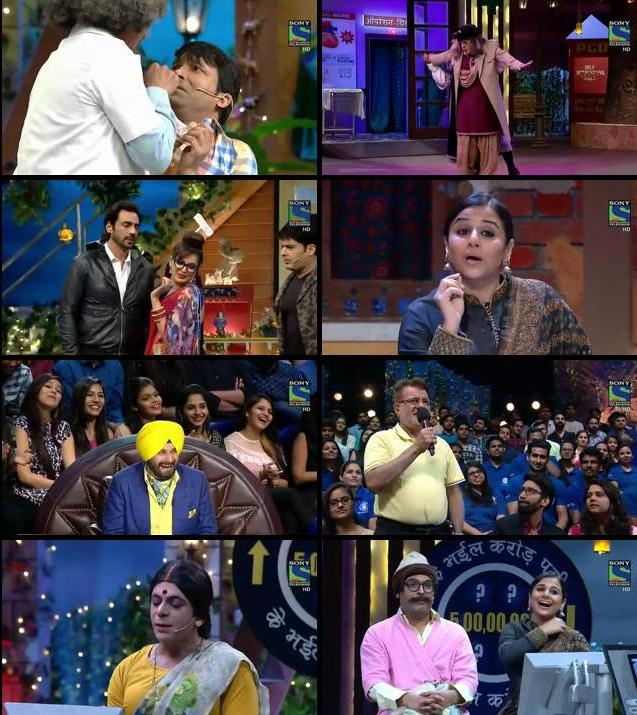 The Kapil Sharma Show 12 Nov 2016 HDTV 480p 250mb