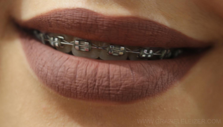 Favoritos Graziele Leizer: Batom líquido matte Alexandra Romanov - Branquela  GL51