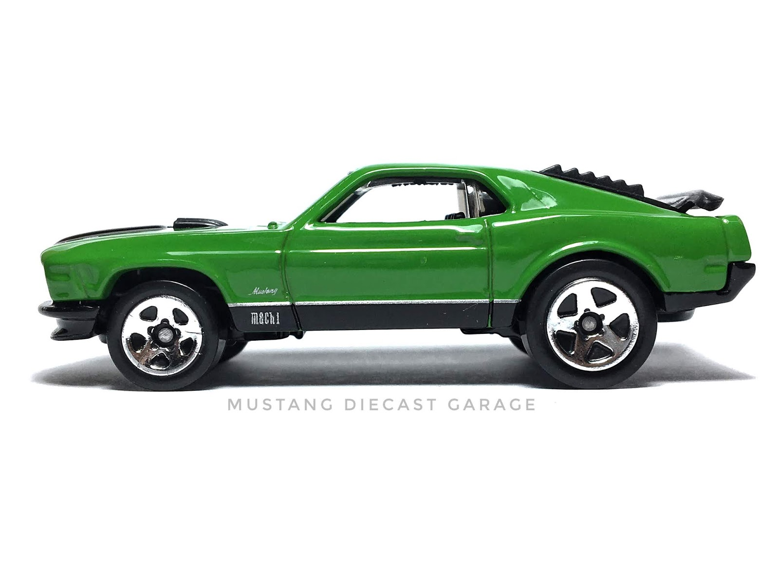 Hot Wheels 1970 Ford Mustang Mach 1 Series 2009 Mania Exclusive 164