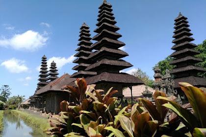 Keheningan Pura Taman Ayun di Bali yang Eksotik dan Kental Ajaran Hindu