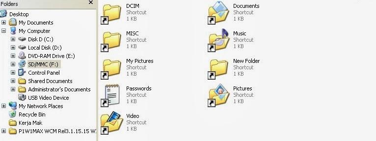 كيف تحذف ڤيروس تحويل المفات إلى روابط مختصرة من حاسوبك بسهولة