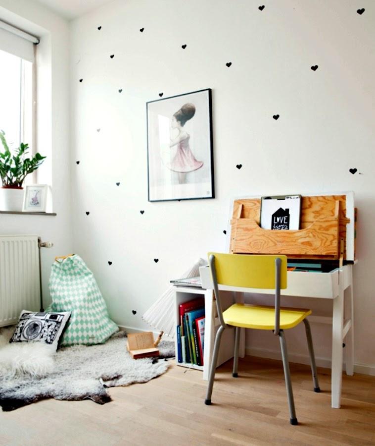 decoracion paredes con laminas