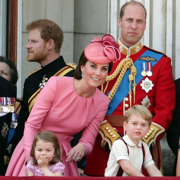 Prince William, Prince George, Princess Charlotte, Prince Harry