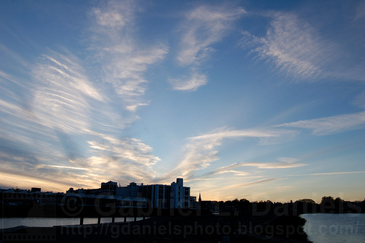 Sunset at Derby Wharf in Salem, MA (photo by Gabriel L. Daniels)