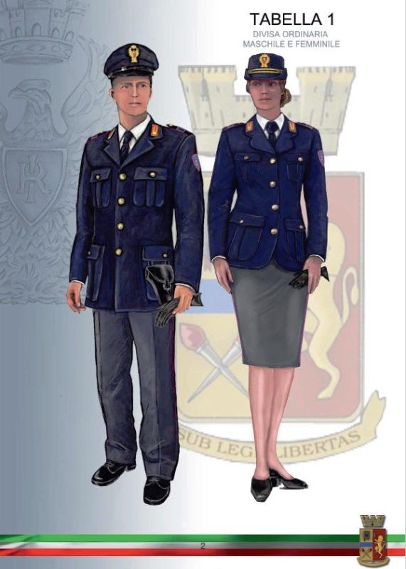 CONSAP - Polizia di Stato Palazzo Chigi: LA DIVISA