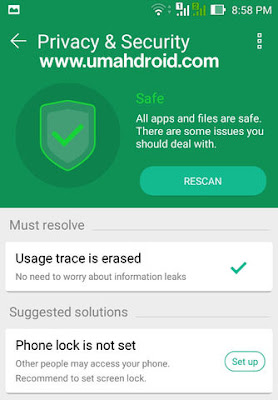 Mengatur Privacy dan Security Android