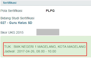 Jadwal UTN Ulang 2017 dan TUK (Tempat Uji Kompetensi-nya)