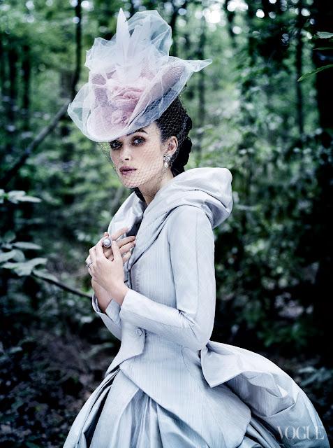 Keira Knightley in Vogue