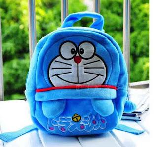 Tas  Sekolah Doraemon Untuk Anak-Anak