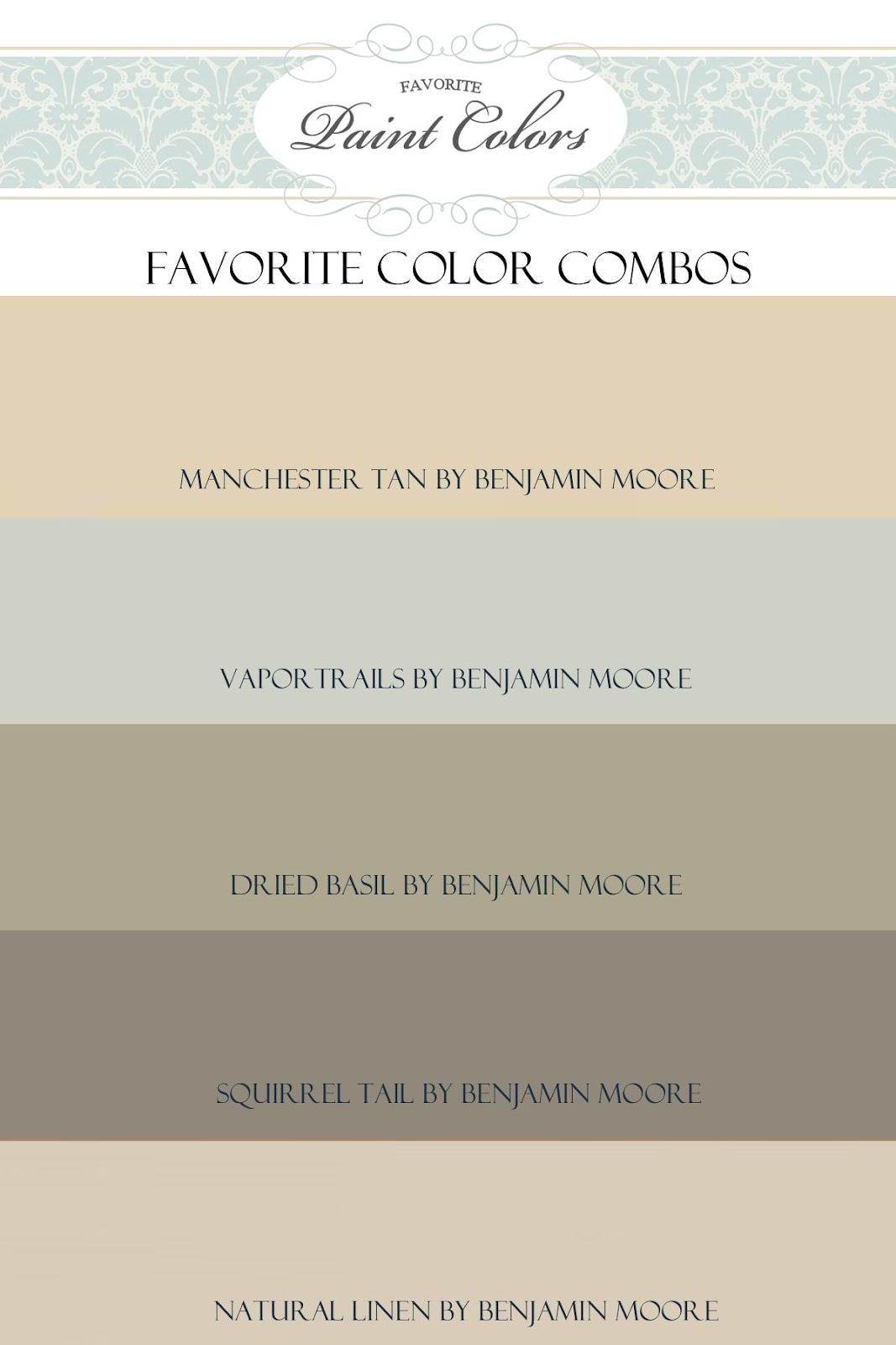 Favorite Paint Colors: June 2012