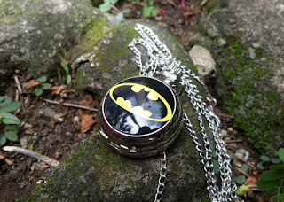 Jam Saku Unik Super Hero Batman P785 With Necklace chain