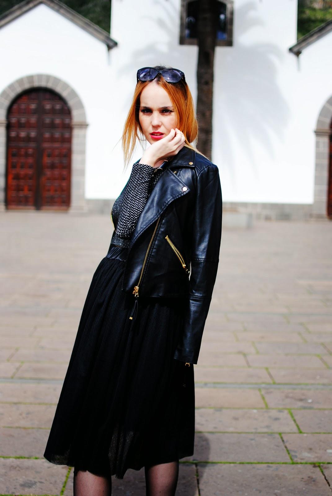 nery hdez, total black, croptop, tutu, midi skirt, rosewhalesale