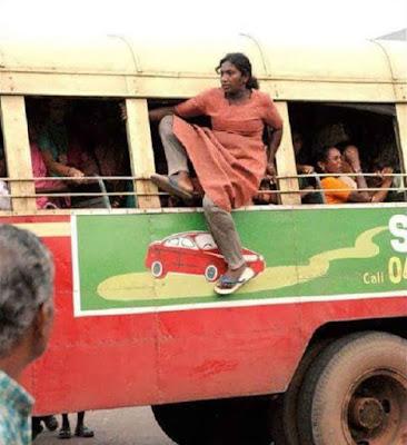 Kelakuan Penumpang Angkutan di India