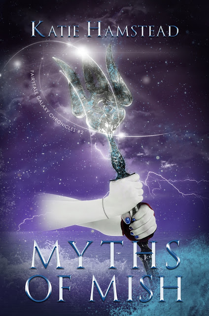 Cover reveal upcoming YA sci-fi book Myths of Mish
