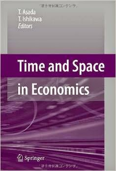 Time And Space In Economics Pdf Book By T. Asada & T. Ishikawa