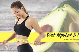 Diet Alpukat, Manfaat dan Cara Agar Sukses Turun 3 Kilo dalam 3 Hari !!