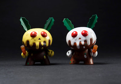 "Christmas Pudding Dunny 3"" Vinyl Figure by Kronk x Kidrobot"