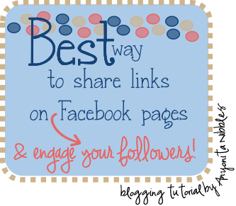 The Best Way to Share Links on Facebook Pages and Engage Your Followers
