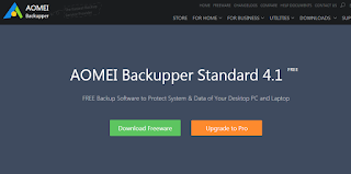 Try AOMEI Backupper to Replace Windows Inbuilt Backup Program