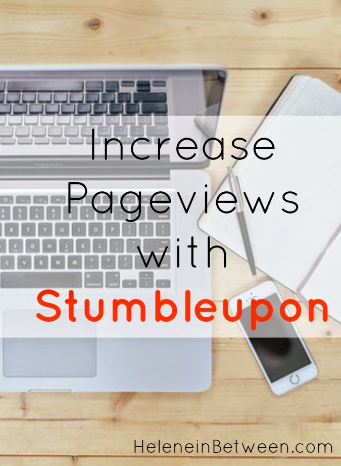 How I Increase My Pageviews with Stumbleupon