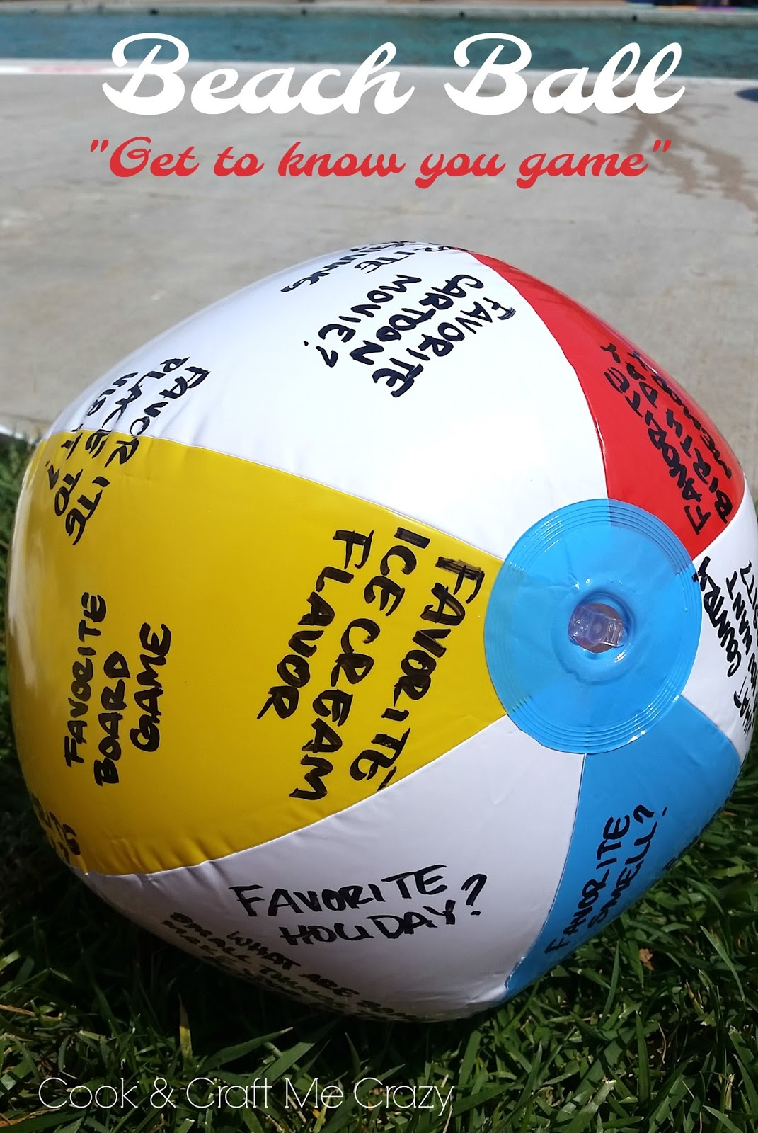beach ball on beach. Beach Ball Questions: On