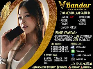 Bonus Besar Judi BandarQ Online Di VBandar.info - www.Sakong2018.com