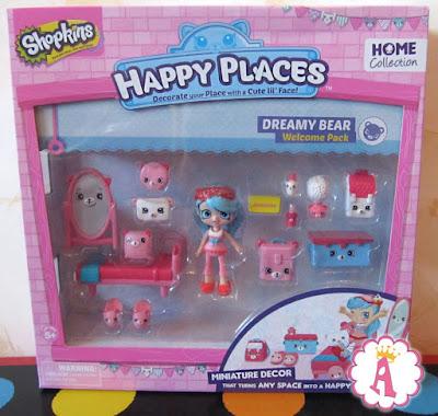 Мебель и мини кукла Шоппис из серии Хеппи Плейсис Шопкинс