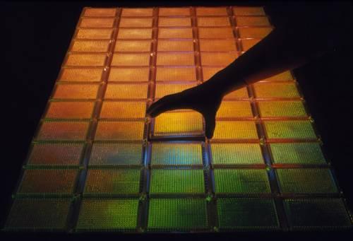 Sesenta bandejas pueden contener todo el genoma humano como 23.040 diferentes fragmentos de ADN clonado.