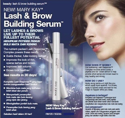 37ca50eae23 Bits 'n' Pieces On Life: NEW! Mary Kay Lash & Brow Building Serum