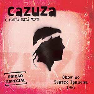 O Poeta Está Vivo - Capa do Disco que Cazuza Gravou em 1987