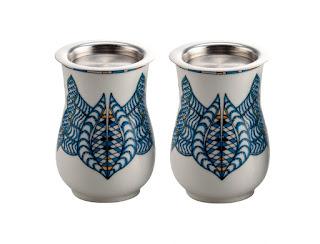 Poetic Garden Mug set of 2 by Arttdinox - Rs 1500