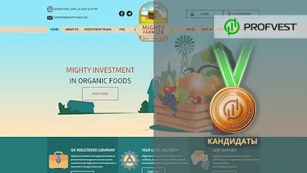 Кандидаты: Mighty Farm LTD – 7,5% чистого профита за 15 дней!