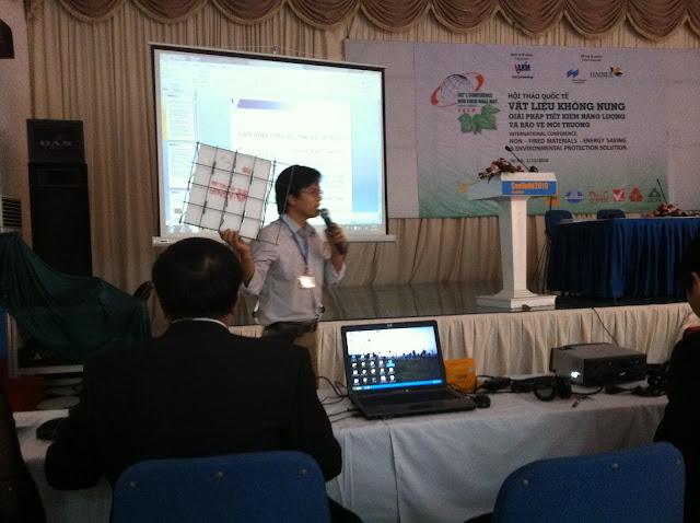 Thạc sỹ Hoàng Thắng tham gia hội thảo trong nước