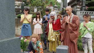 The cast of Kamen Rider Ghost