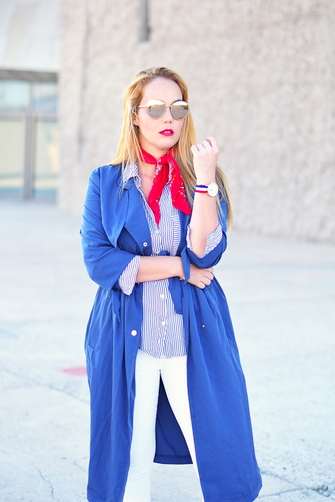 nery hdez, choies, trench, bandana, chanel , optical h