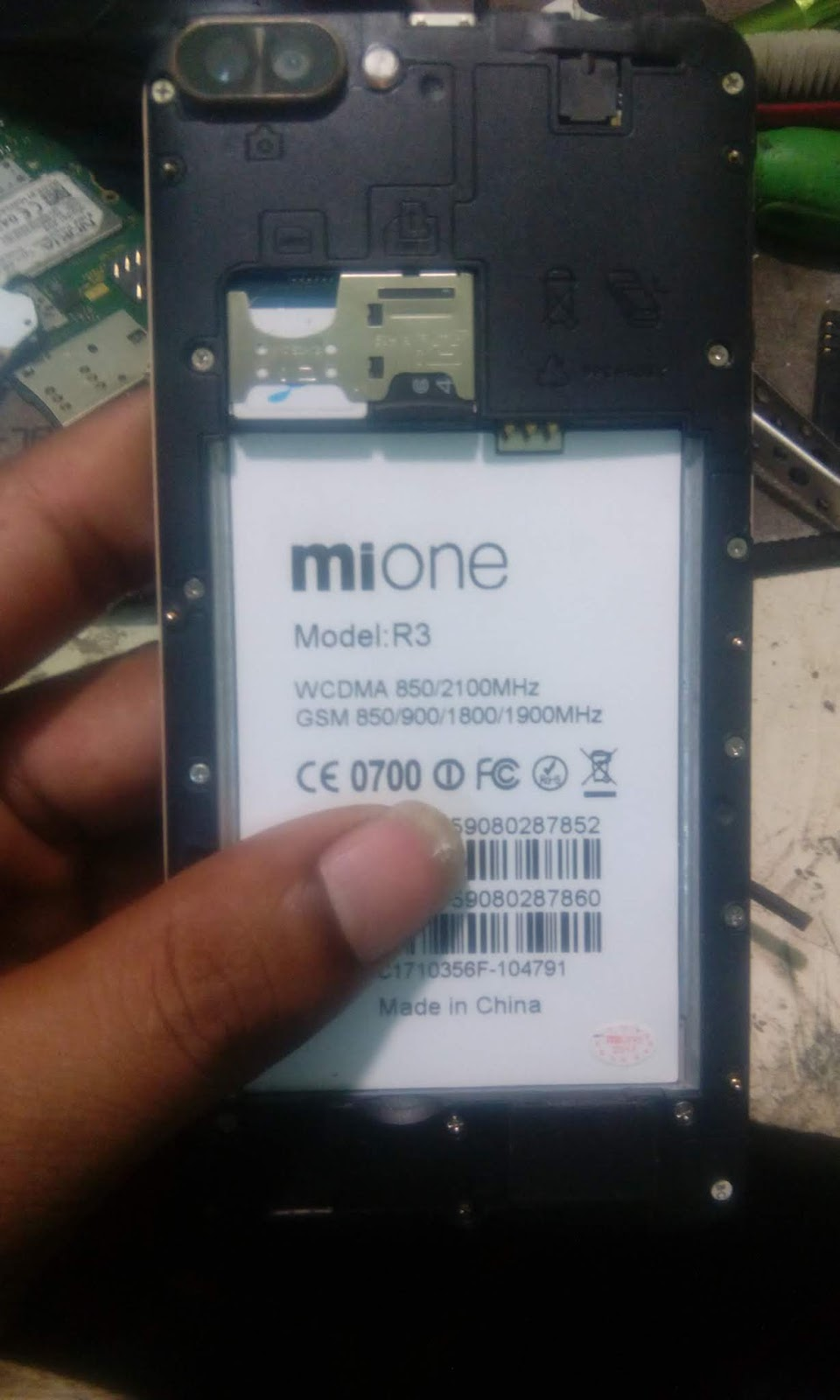 MIONE R3 6 0 MT6580 FLASH FILE(HANG LOGO DEAD BOOT RECOVER) STOCK