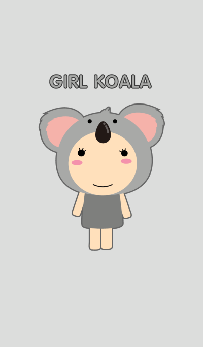 Simple Girl Koala theme