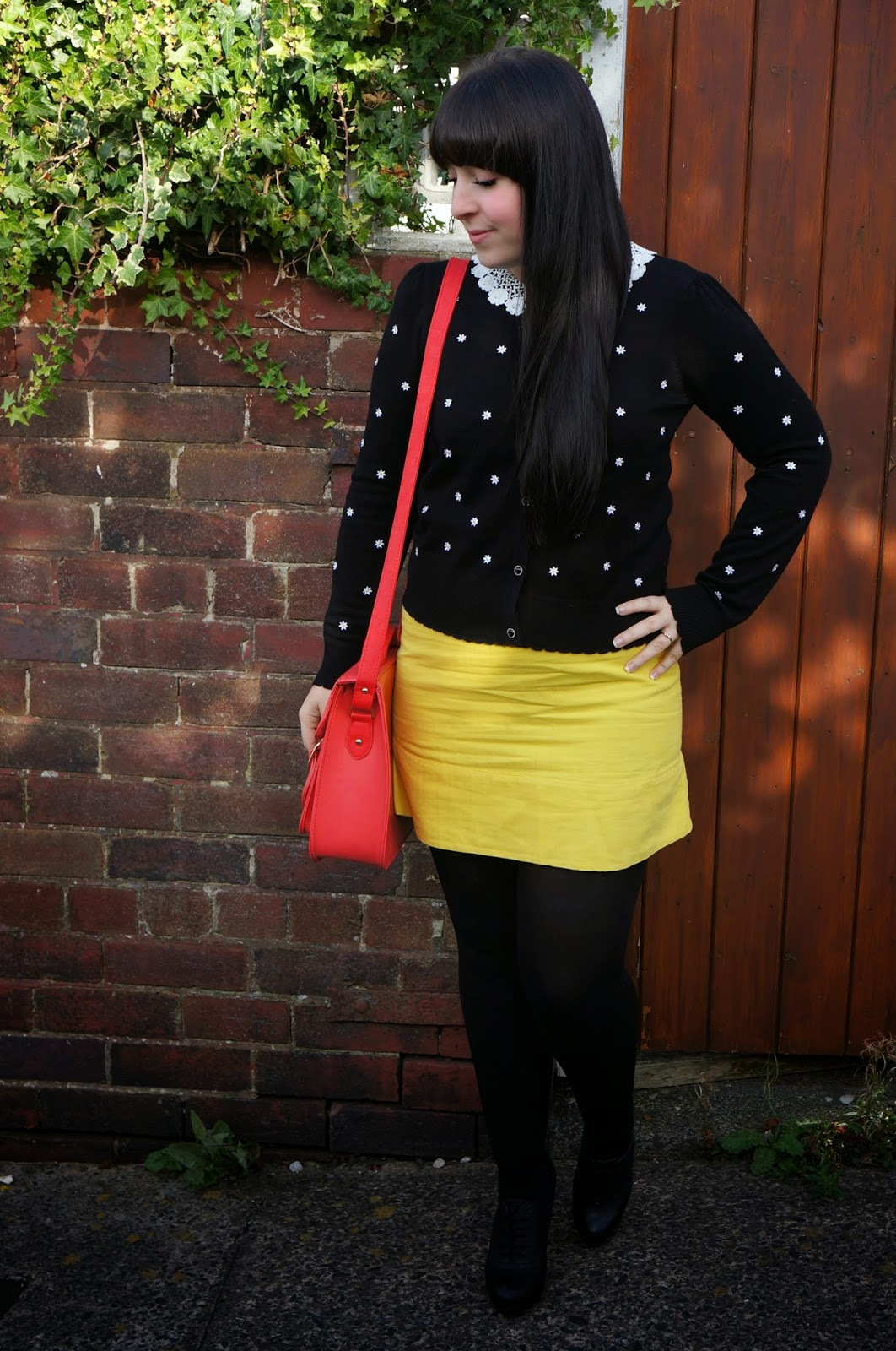 WHAT I WORE :: ANOTHER FROCK SWAP